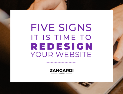 Five Signs It Is Time To Redesign Your Website